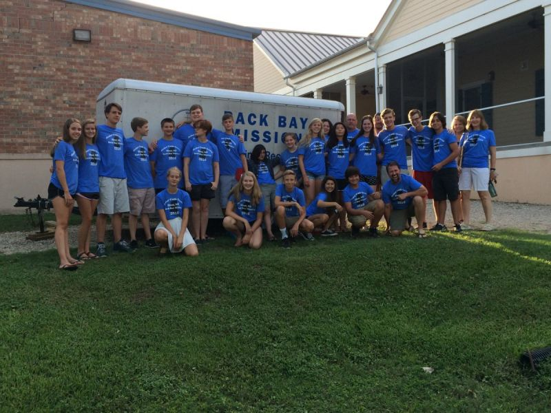 bethel united church of christ youth group goes to biloxi ms on annual mission