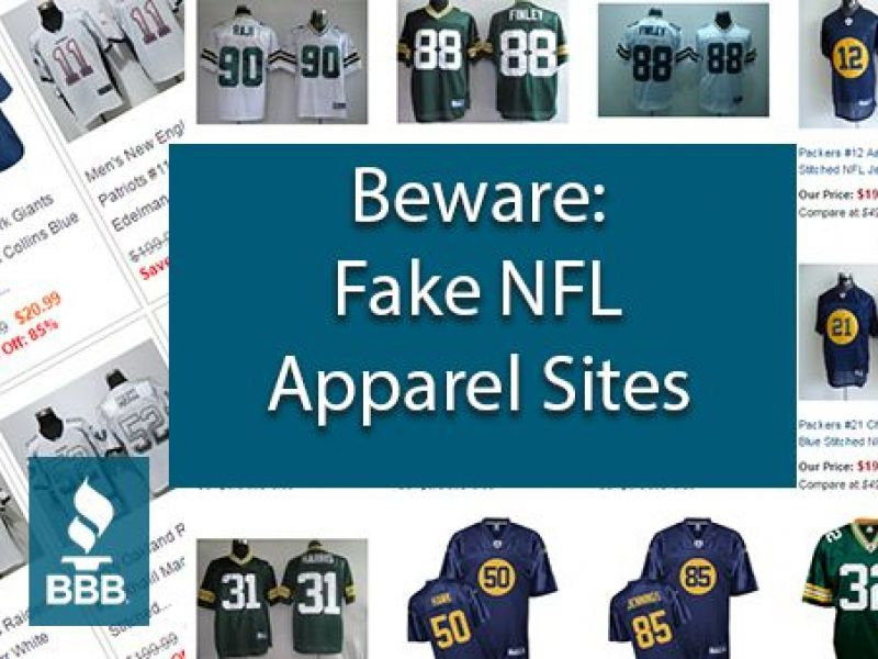 d392c5808 BBB Warns Football Fans - Beware of Suspicious Apparel Websites ...