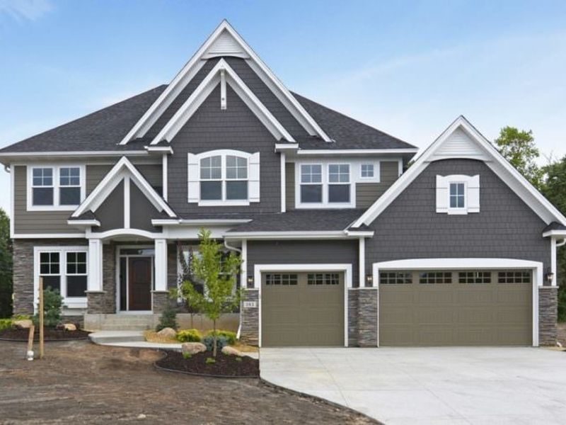 Top Hinsdale, IL James Hardie Siding Color Spotlight: Night Grey  KU88