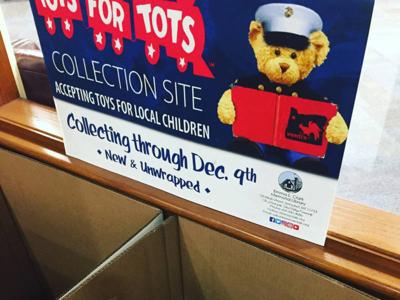 Emma Clark Library Is A Drop Off Location For Toys Tots