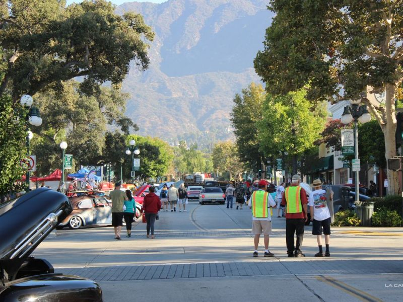 Street Rods And Classic Cars Take Over Old Town Monrovia Monrovia Ca Patch