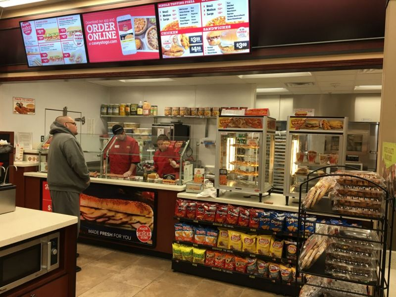Your local Casey's is always just around the corner. Find a location near you to gas up or get your fix of pizza, donuts, coffee, sandwiches and more.