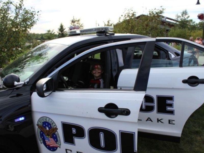 crystal lake cops bringing free face