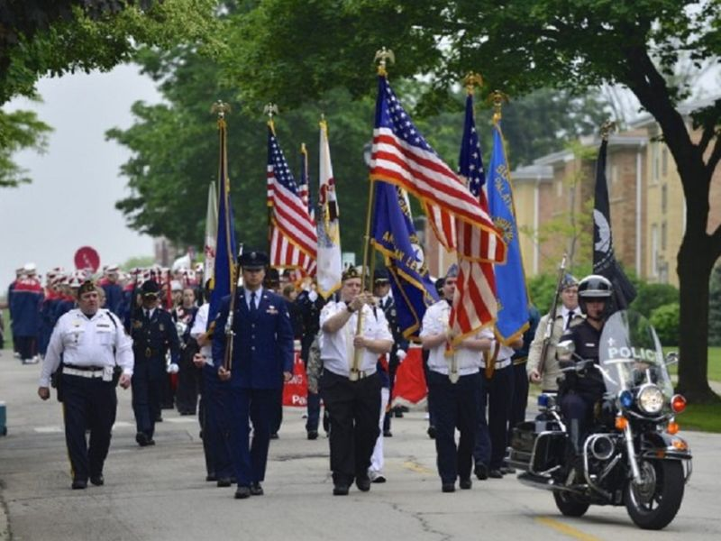palatine memorial day parade  when and where to watch the