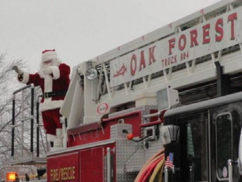 Christmas Parade Tree Contest Need Oak Forest