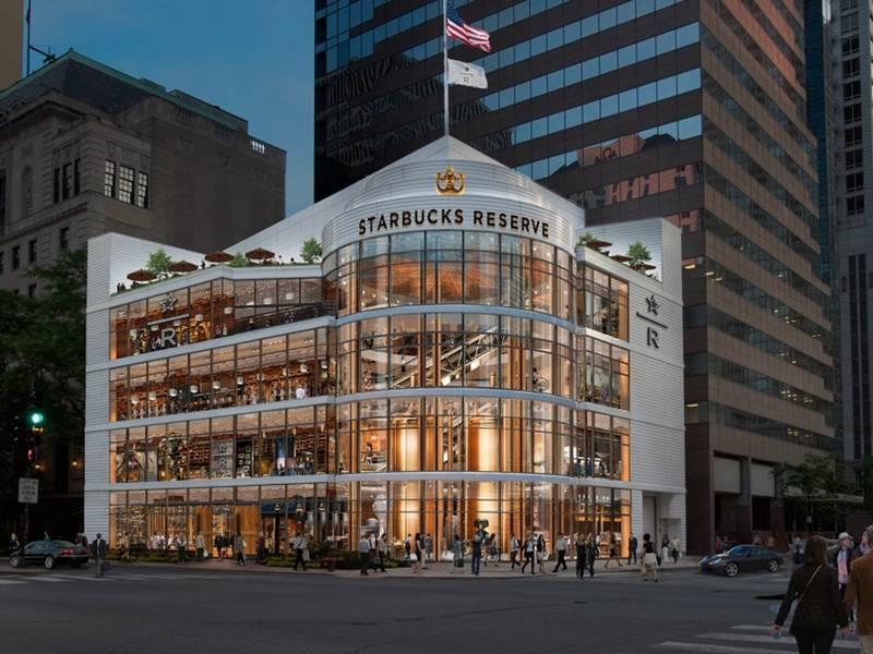 bye mag mile crate barrel hi world 39 s largest starbucks chicago il patch. Black Bedroom Furniture Sets. Home Design Ideas
