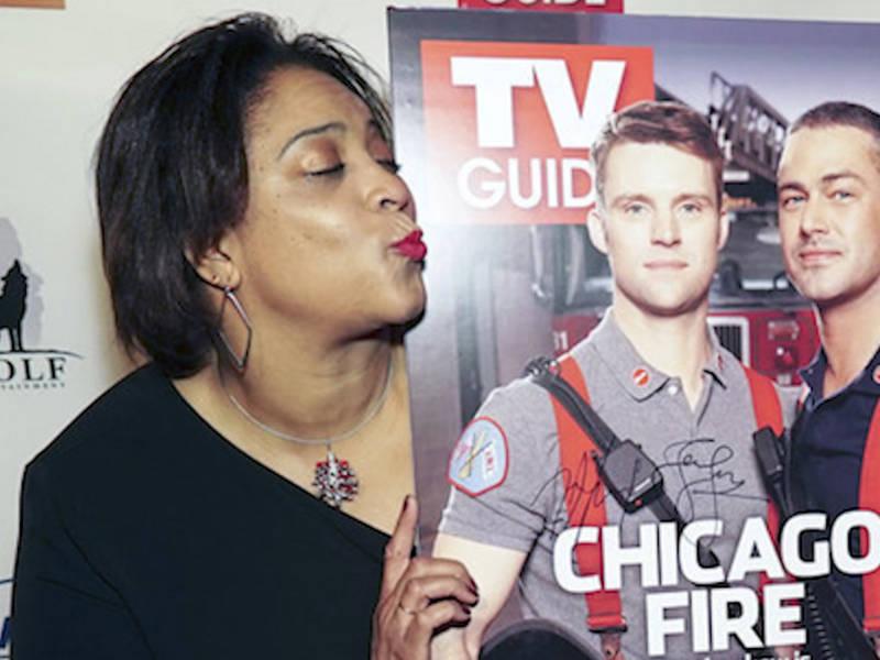 Resultado de imagem para dushon monique brown and chicago fire tv guide