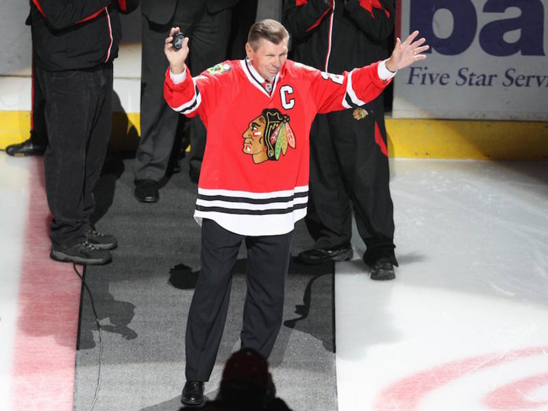 3c2a01875 Stan Mikita Dies At 78   He Embodied The Chicago Blackhawks ...