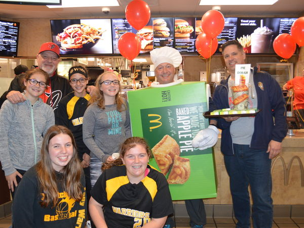 Westchester McDonald's Hosts Fundraiser for Westchester Girls Softball