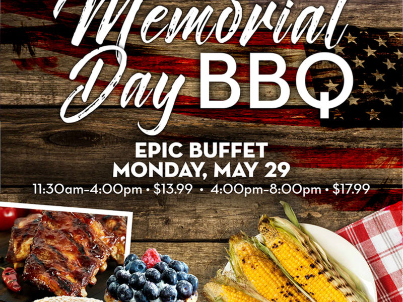 Hollywood Casino At Charles Town Races Is Throwing An All American Memorial  Day Barbeque