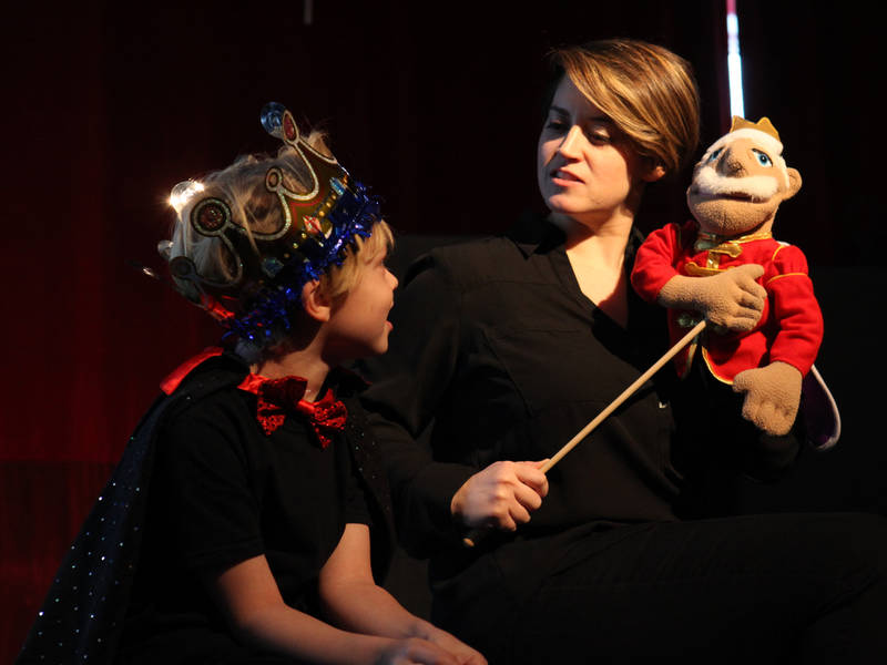 ... Curtain Opens on New Children's Theater at the Enchanted Garden School of Theater This Fall- ...