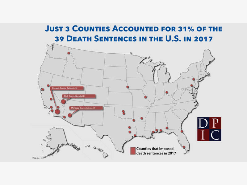 Riverside County Has Highest Death Penalty Rate In US Report
