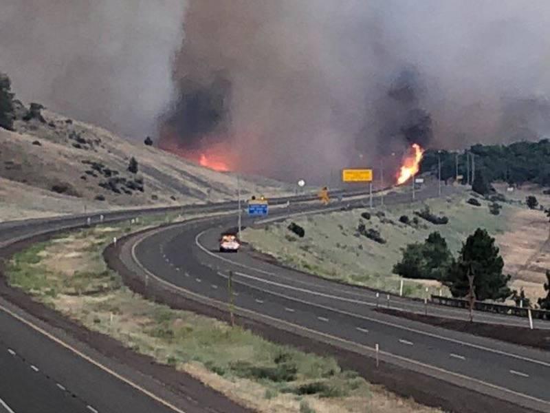 Klamathon Fire Burns 22 000 Acres Kills 1 Across California Ca Patch