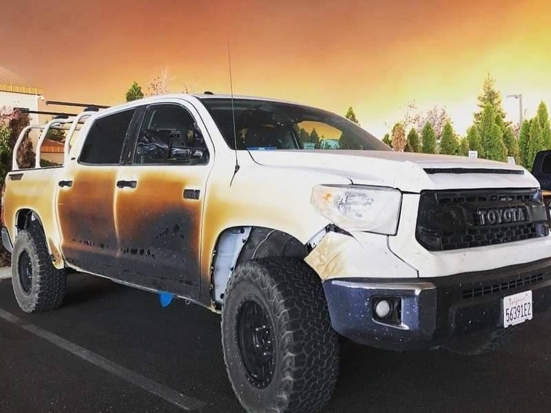 Toyota Elk Grove >> Nurse Uses Truck To Save Fire Victims; Toyota Offers Him New Ride | Chico, CA Patch