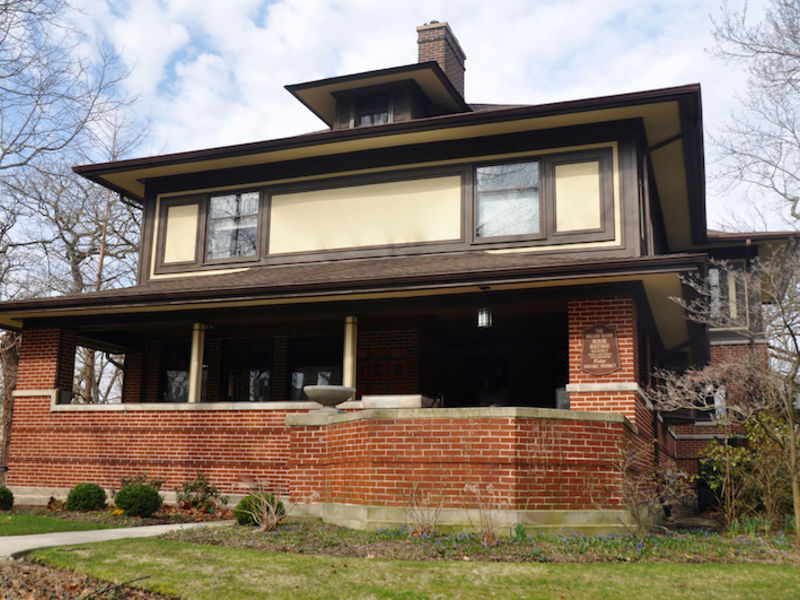 Beverly Hills-Morgan Park Home Tour Features Two Rare Frank Lloyd ...