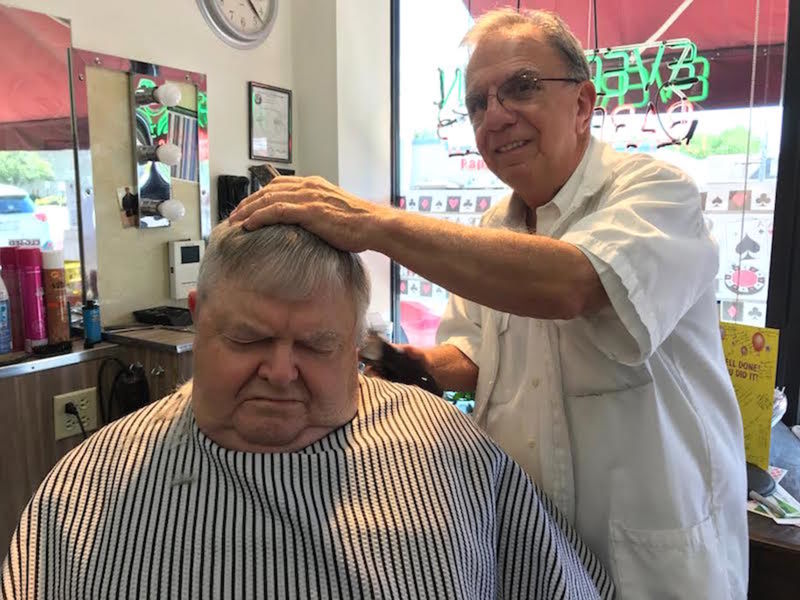 Barber Celebrates 60 Years On 95th Street Evergreen Park Il Patch