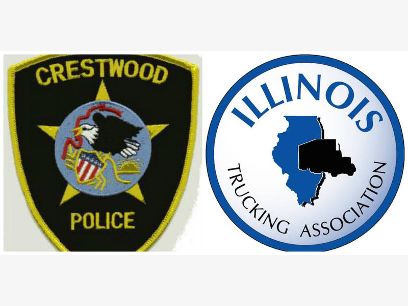 Crestwood Cops And Illinois Truckers Collecting Supplies For