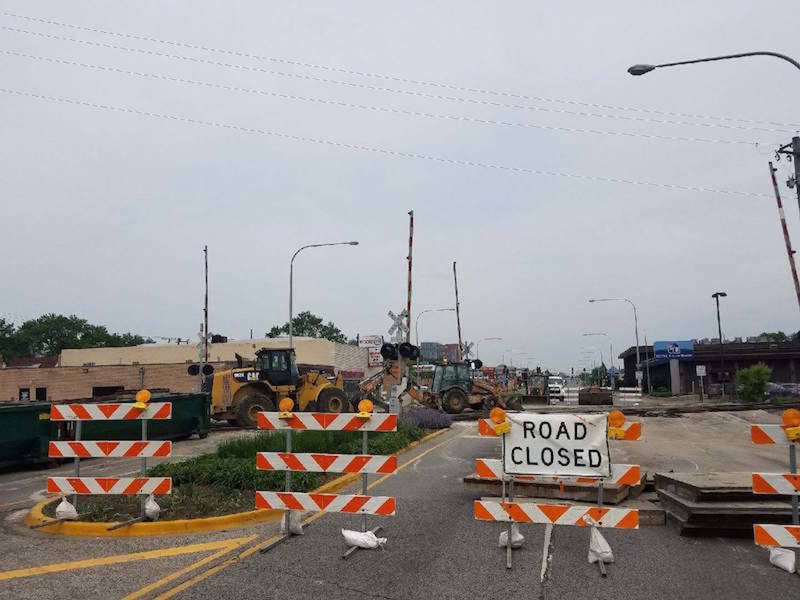 CSX Grade Crossing Closed For Ten Days At 95th Street And Troy