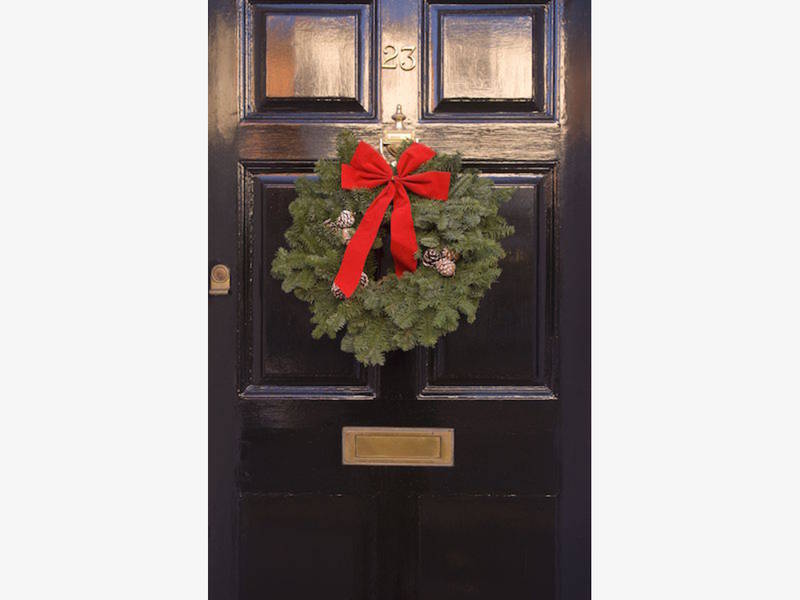mcauley fathers club selling holiday wreaths greenery