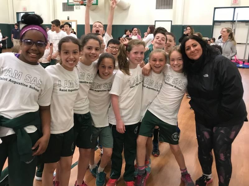 St Augustine School Walk A Thon Highlights New Gym Benefit