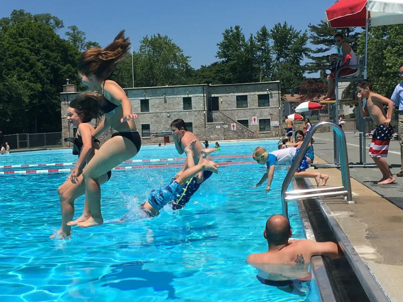 Cranston dives into summer budlong pool opens for season - Restaurants in garden city cranston ri ...