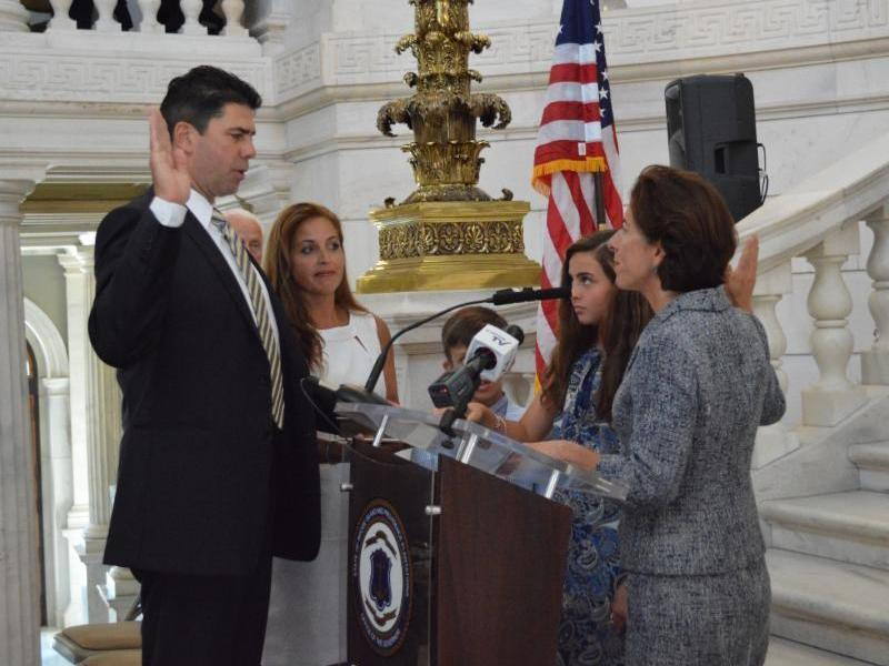North kingstown 39 s caruolo sworn in as district court - Restaurants in garden city cranston ri ...