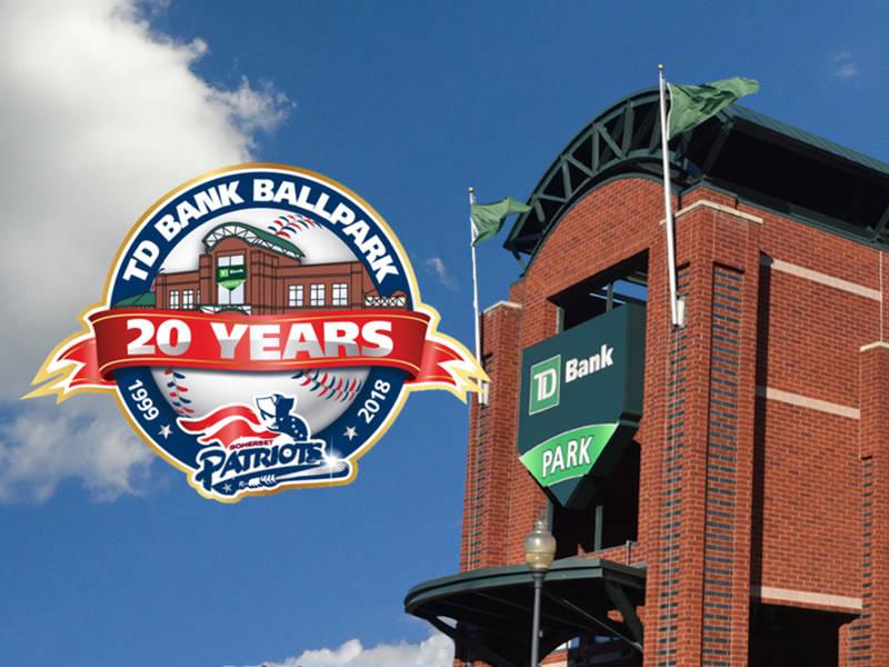 Somerset Patriots Unveil Td Bank Ballpark S 20th