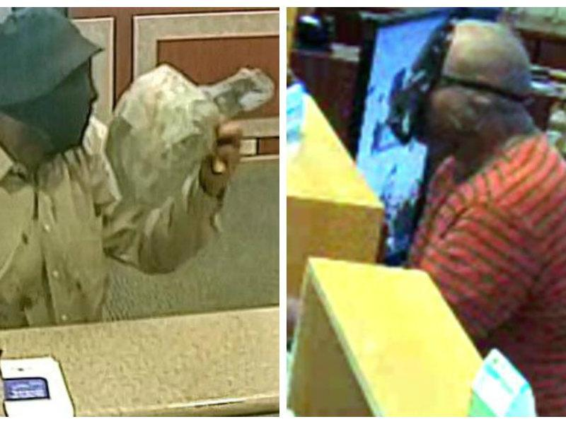 suspect swaps out darth vadar mask for fisherman hat in most recent bank robbery