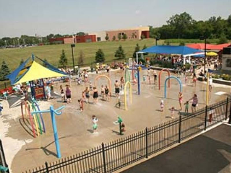 suburban splash pads that will keep the kids cool during
