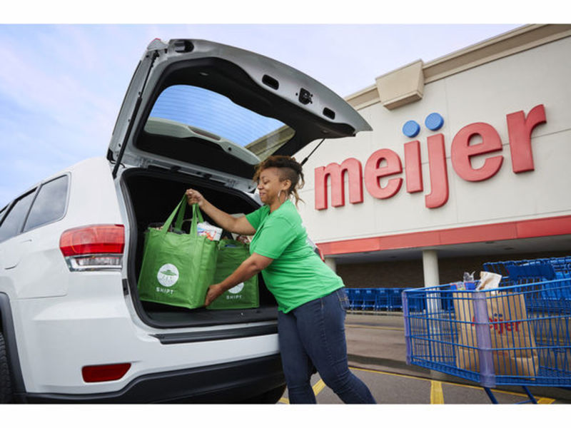 meijer to begin grocery delivery service in crystal lake