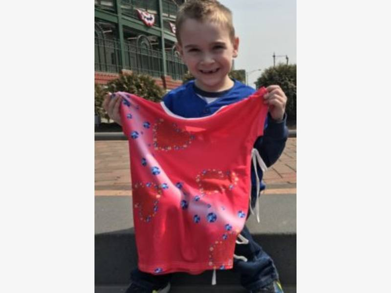 Crystal Lake Boy Designs Winning Hospital Gown For Sick Sister ...