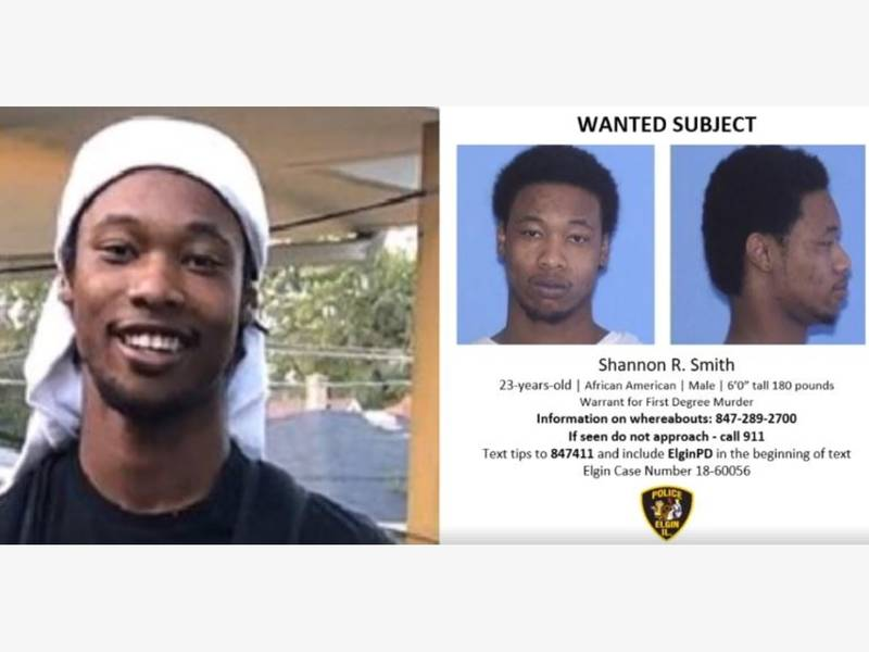 arrest warrant issued for brother in elgin murder