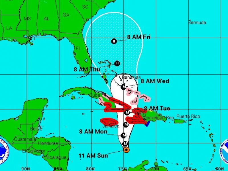 Hurricane Matthew Heads North, Southeast U.S. Prepares for Unclear ...