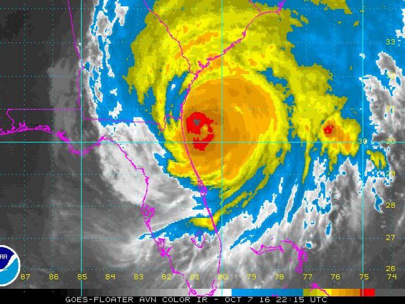 Hurricane Matthew Hits Georgia Rising Waters Expected More Than