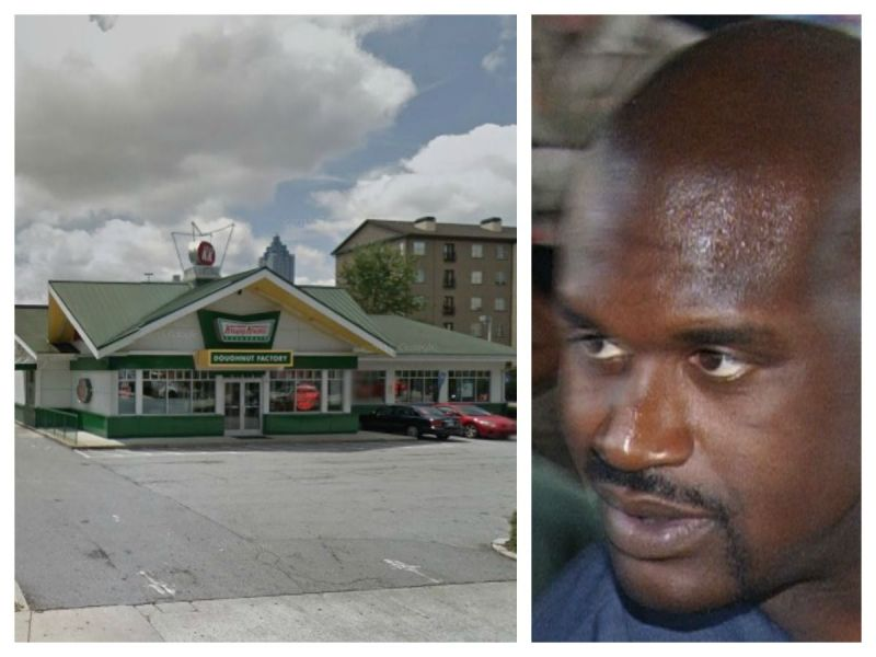 Shaquille o 39 neal new owner of iconic krispy kreme location - Atlanta farm and garden by owner ...