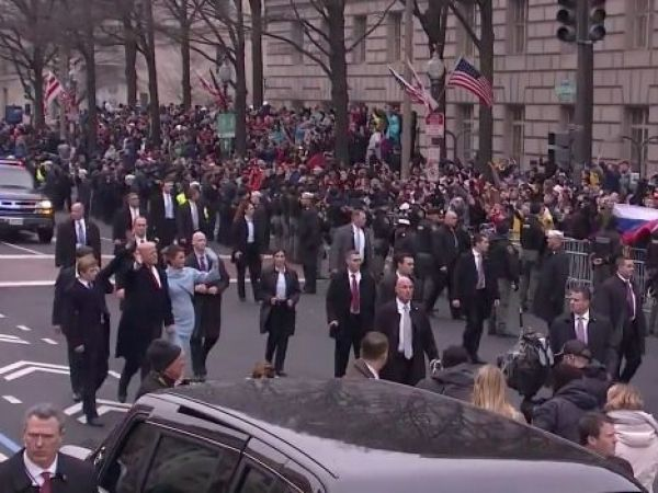 Watch Live Stream Donald Trump Inauguration Parade