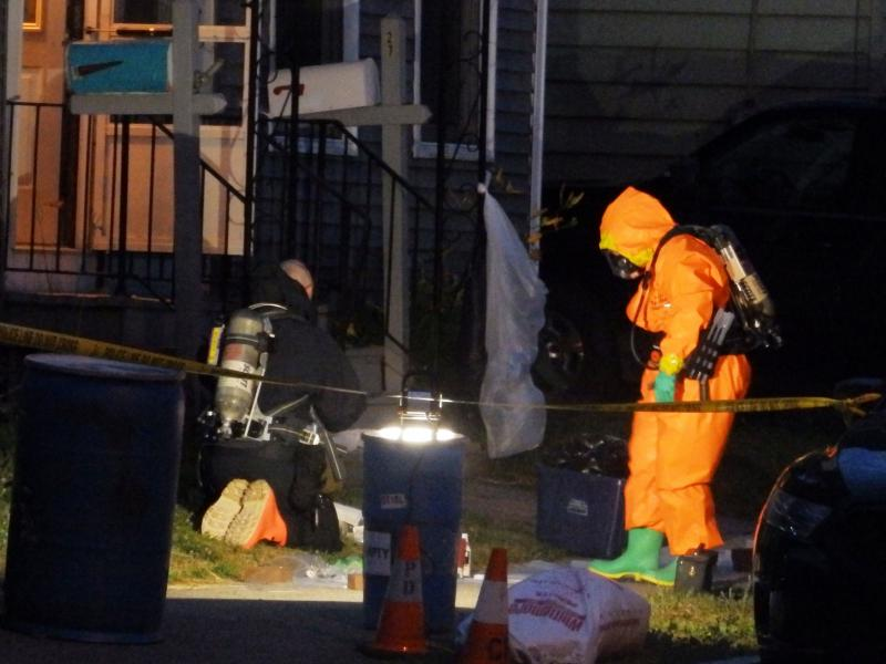 Concord Police Discover Meth Lab On Perley Street