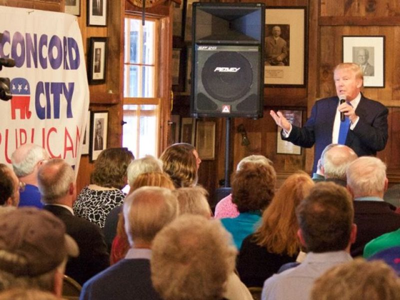 Watch: Video of Donald Trump Rally in Laconia NH - Concord, NH Patch