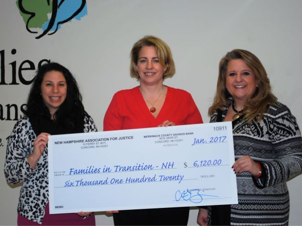 Trial Lawyer Group Raises Thousands for Families in Transition - New Horizons