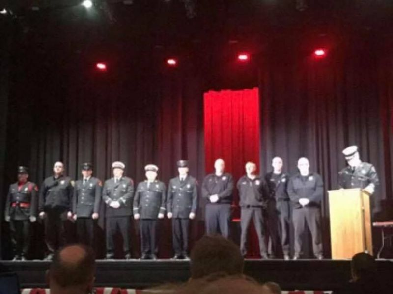 Concord Firefighters Receive Awards
