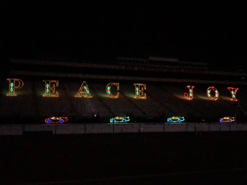 2+ Miles Of Lights At The New Hampshire Motor Speedway: Watch