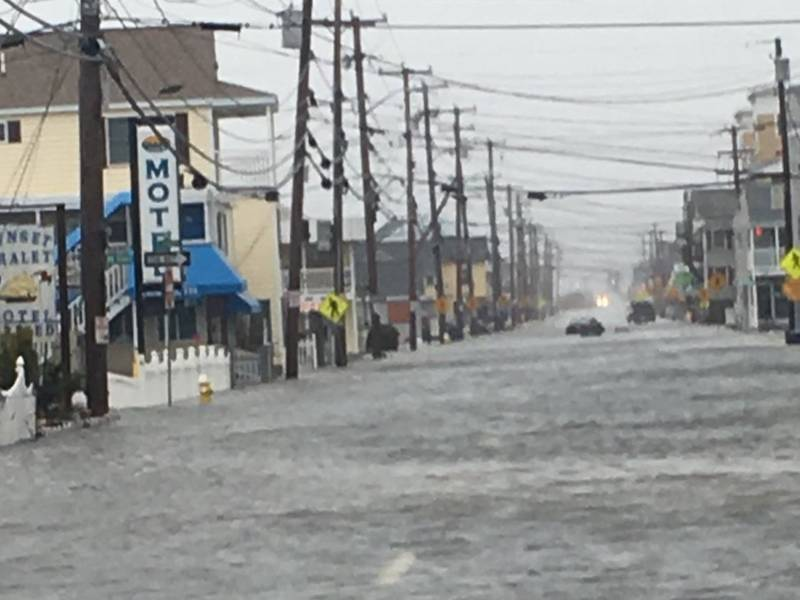 High Tides And Storm Surges Cause Flooding In Hampton Hampton Nh