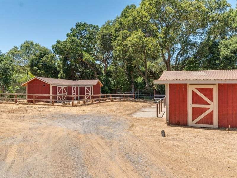 Remodeled Ranch In Novato Has Barn Arena For Horses