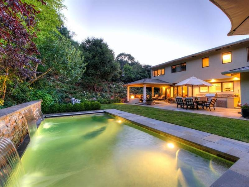 backyard oasis in novato offers built in grill and pool novato ca