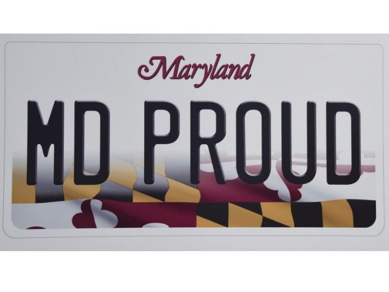 New Maryland License Plate Features State Flag | Towson, MD Patch