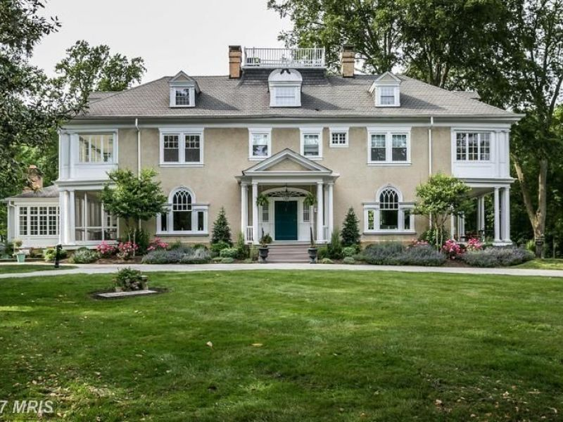 Poe Mansion First Townhouse Oldest Listings Maryland Dream Homes