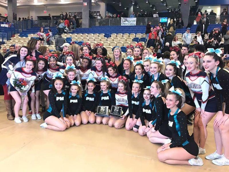 Huskies Place Second In Maryland Cheerleading Finals Bel