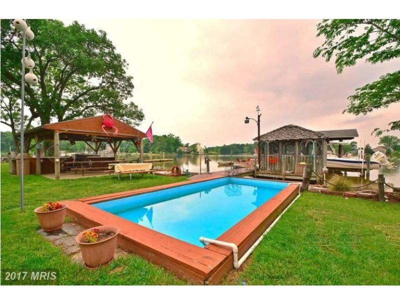 8 homes with pools for sale in and around perry hall