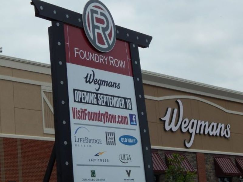 Homegoods To Open In Foundry Row Report