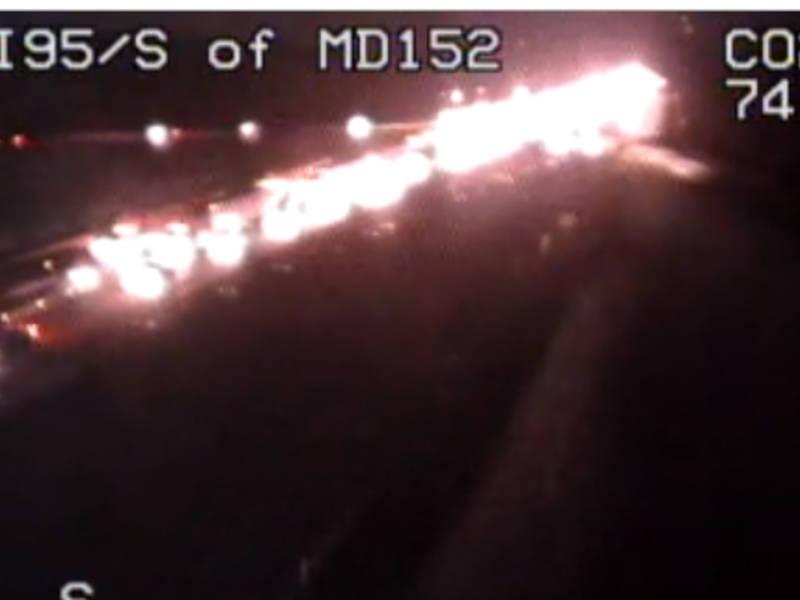 Crash On I 95 Snarls Traffic In Harford County 0